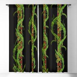tropical snake vine Blackout Curtain