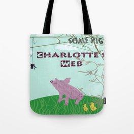 Charlotte's Web Tote Bag