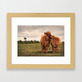True love on the moo(rs) Framed Art Print