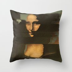 Mona Glitcha Throw Pillow