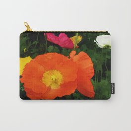 Poppies One Carry-All Pouch
