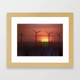 Clean Energy (Digital Art) Framed Art Print