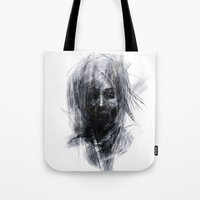 silent Tote Bags featuring Silent by Gyossaith