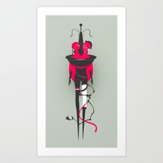 Houte Couture Carnival for Red People #1 Art Print