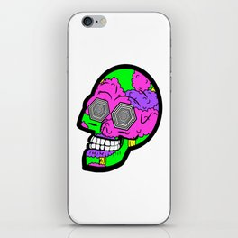 Psych Skull iPhone Skin
