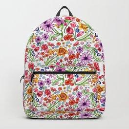 Floral Patten Backpack