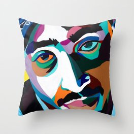 Lord Knows Throw Pillow