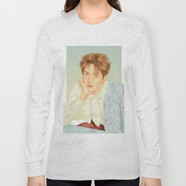poetic beauty [jaehyun nct] Long Sleeve T-shirt