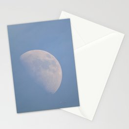 January Half Moon Stationery Cards