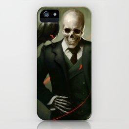 Skully Gentleman iPhone Case