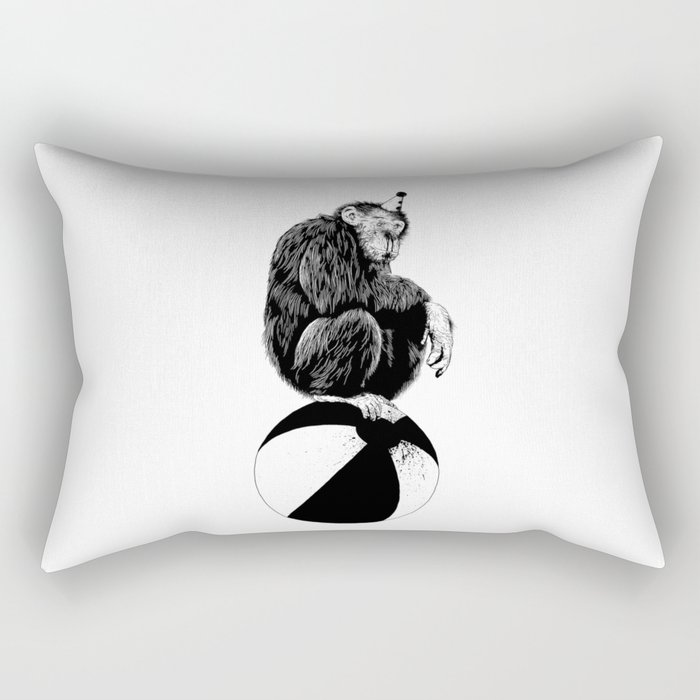 Chimp Rectangular Pillow