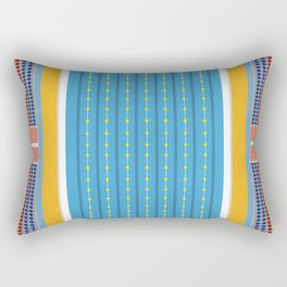 Freestyle Stroke   Aerial Illustration Rectangular Pillow