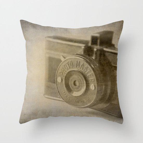 Photo Master Throw Pillow