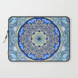 Blue Mandala Laptop Sleeve