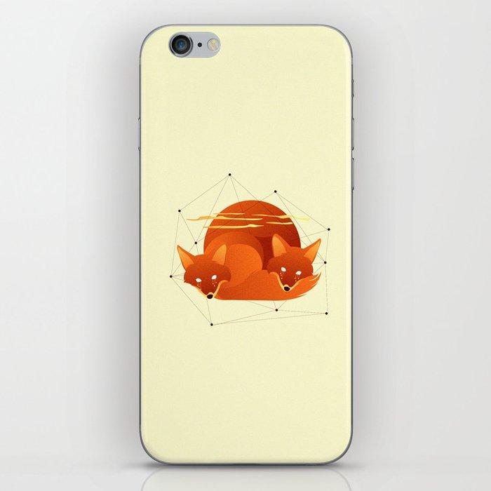 Fiery Fox iPhone Skin
