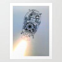 Destination Tatooine Art Print