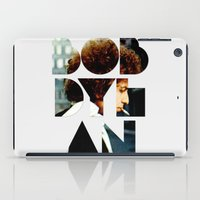 dylan iPad Cases featuring Bob Dylan Font Colour by Fligo