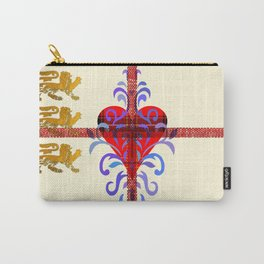 Three Lion Heart I Carry-All Pouch
