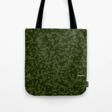 Comp Camouflage / Green Tote Bag