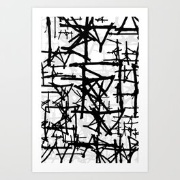 Abstract1on Art Print