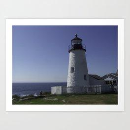 Pemiquid, Maine Lighthouse Art Print