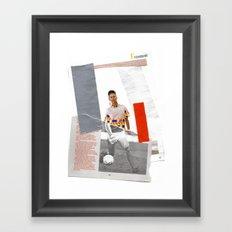 Football Fashion #7 Framed Art Print