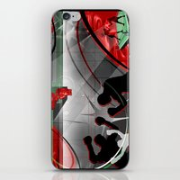boxing iPhone & iPod Skins featuring Boxing by Robin Curtiss
