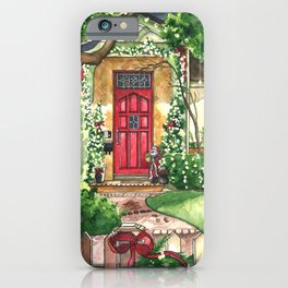 The Christmas House iPhone Case
