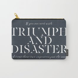 Triumph & Disaster Carry-All Pouch