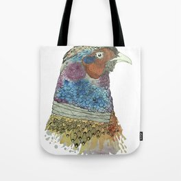 Pheasant by Irfhan Mirza Tote Bag