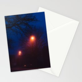Foggy Nights (1) Stationery Cards