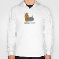 yorkie Hoodies featuring Yorkie by 52 Dogs