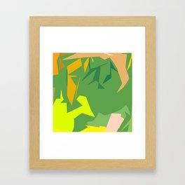 Always Greener Framed Art Print