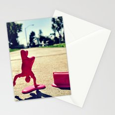 Breakdancing on a sunny day. Stationery Cards