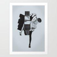 wisconsin Art Prints featuring Wisconsin Avenue by Joe Castro