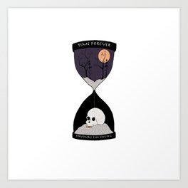 Time Forever Favours The Young Art Print