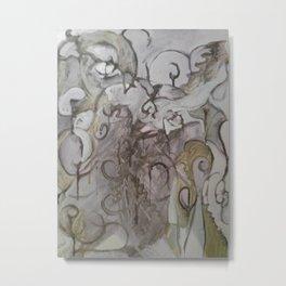 Moses (abstract) Metal Print