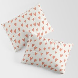 Hearts Hearts Hearts Pillow Sham