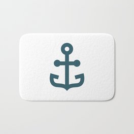 Minimalist Anchor Bath Mat