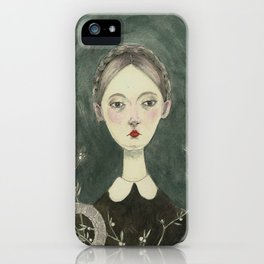 Gloomy afternoon iPhone Case
