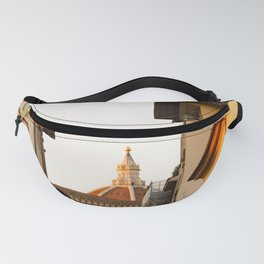 The Duomo in Florence Seen on the Ponte Vecchio Fanny Pack
