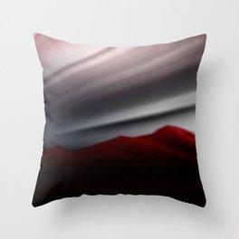 Bergpanorama. Throw Pillow