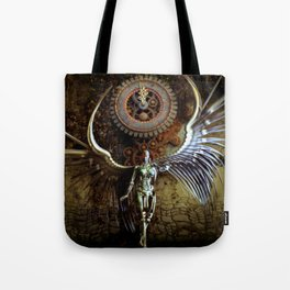 The Last Shadow Of Time Tote Bag
