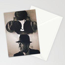 Leonard Cohen hats Stationery Cards
