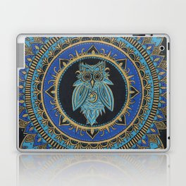 Blue Moon Owl Laptop & iPad Skin