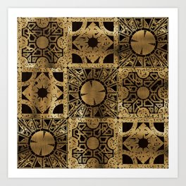 Lament Configuration Spread Art Print