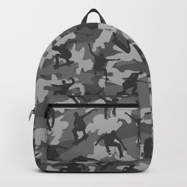 Skater Camo B&W Backpack