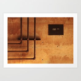 Access Area Art Print