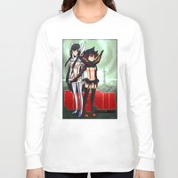 kill la kill Long Sleeve T-shirts featuring Kill la Kill  by lilbutt