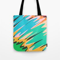 kids Tote Bags featuring Kids by Celery Woulise